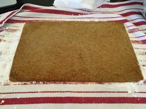 Carrot Cake Roll - 12