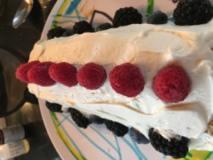 Berries and Cream Roll Cake - 20