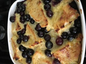 Lemon Blueberry Bread Pudding - 8