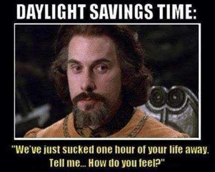 Princess Bride Daylight Savings Time meme