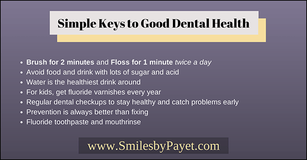 Good Dental Tips