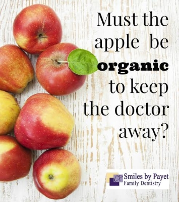 Charlotte dentist Dr. Payet doesn't buy organic food