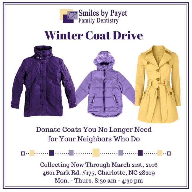 2015-16 Charlotte Winter Coat Drive