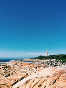 Eddystone Lighthouse at Bay of Fires