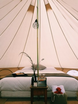 Bay of Fires Bush Retreat glamping bell tents