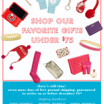 Shop Our Favorite Gifts Under $75 Kate Spade email