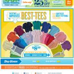 Old Navy email design: Best Tees