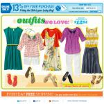 Old Navy email design: Outfits We Love