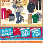Old Navy email design: This Just In
