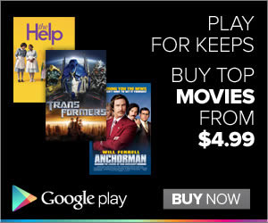 Google Play banner ad design example