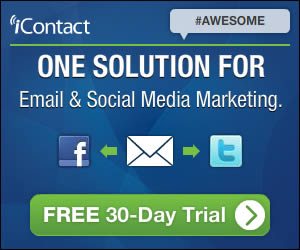 iContact banner ad design example