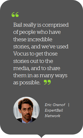 Vocus pull quote design example