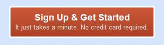 Zoho Invoice web button design example