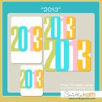{Free Printables and My Project Life 2013 approach}