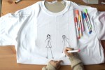 T shirt fabric markers