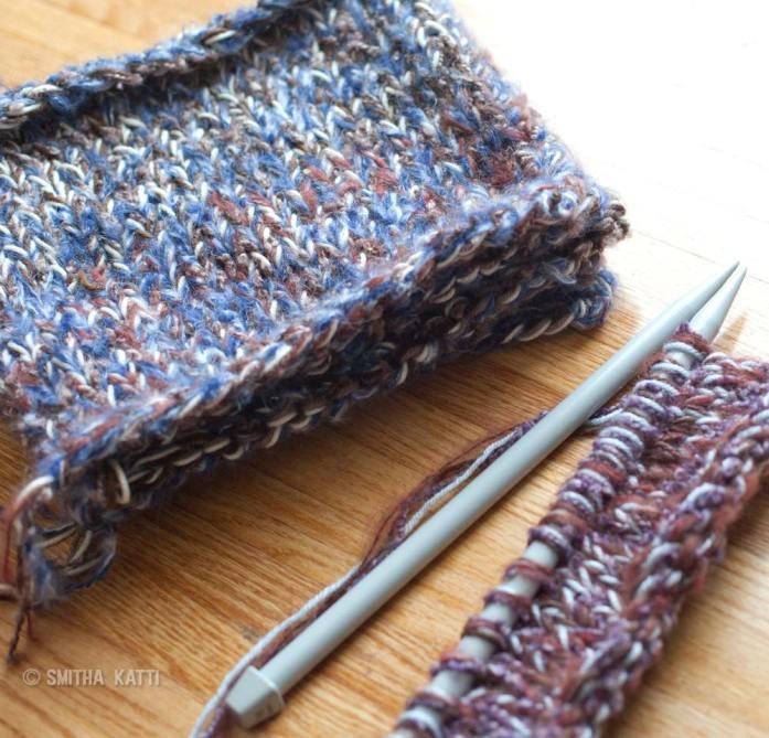 Easy Chunky Knit Blanket Pattern: 4 strands of yarn ...