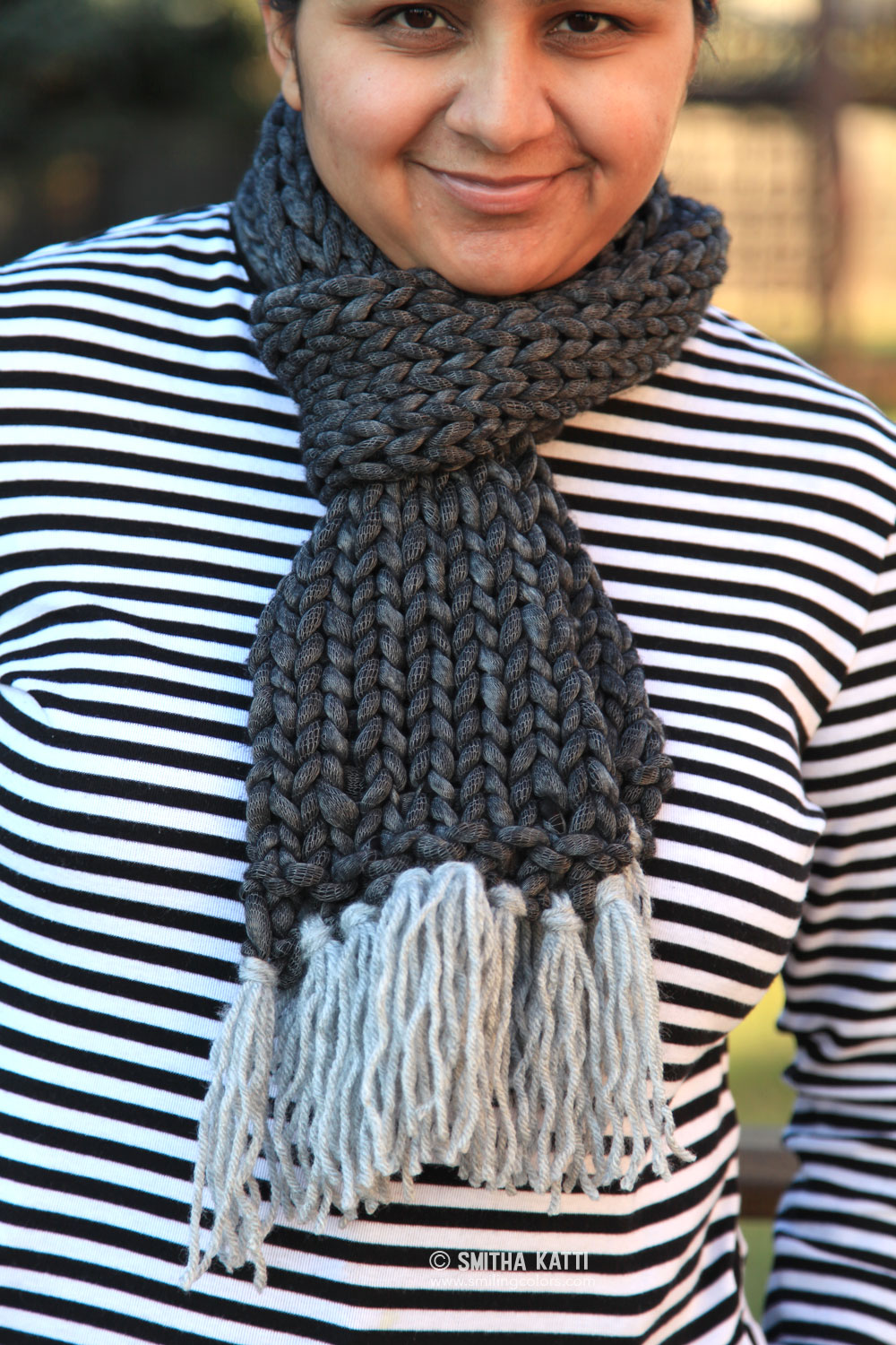 Quick Knit Scarf