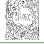 Holiday Coloring Book for Adults and a Giveaway