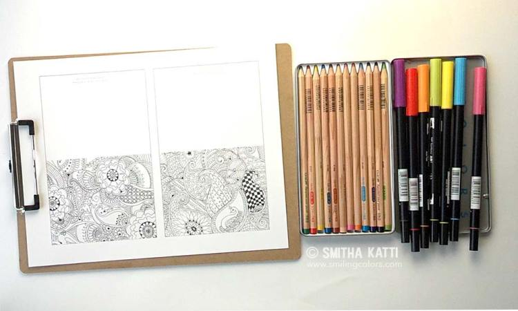 coloring cards free printable