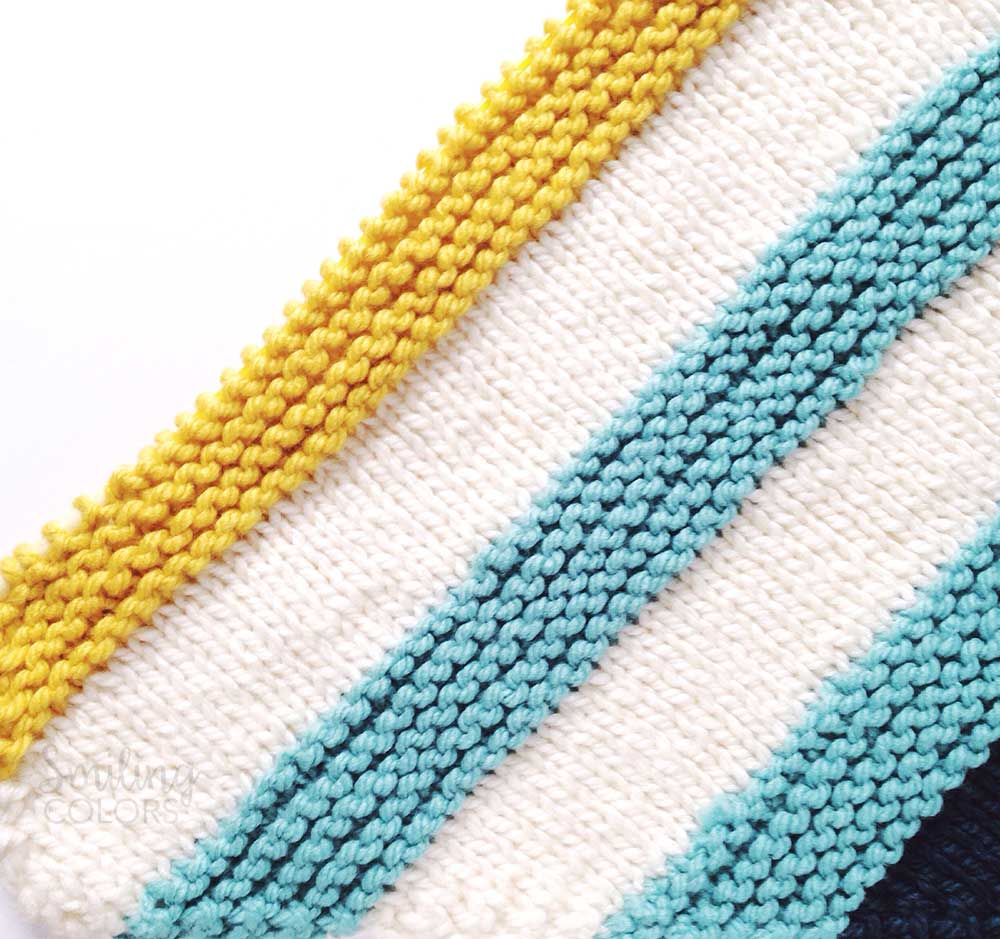 How to Knit a corner to corner baby blanket with FREE pattern