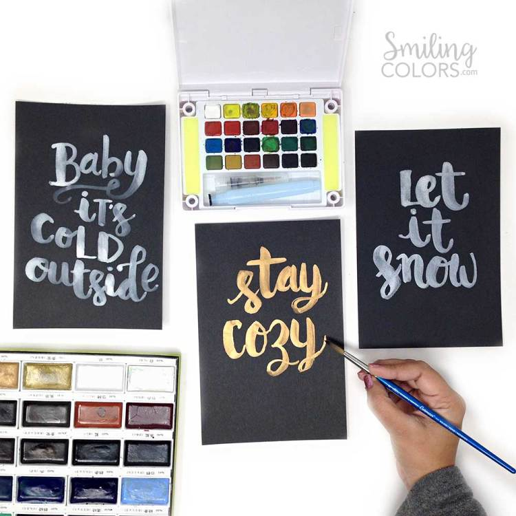 brush-lettering-on-black-paper-video