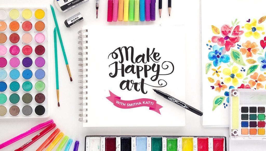 make happy art smitha katti
