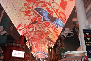Viva Light show at Fremont Street