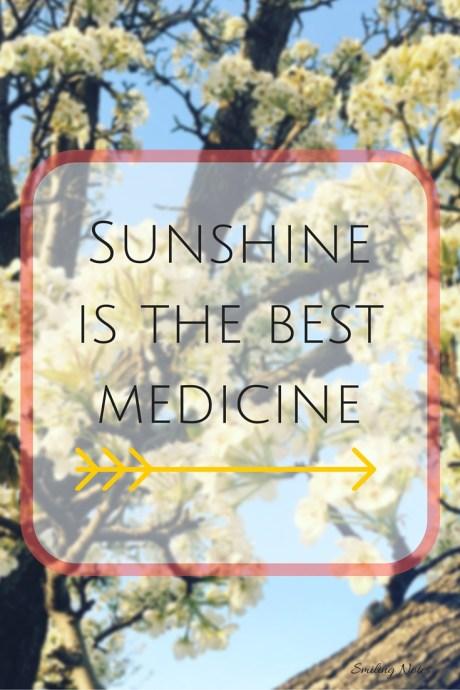 spring sunshine quote