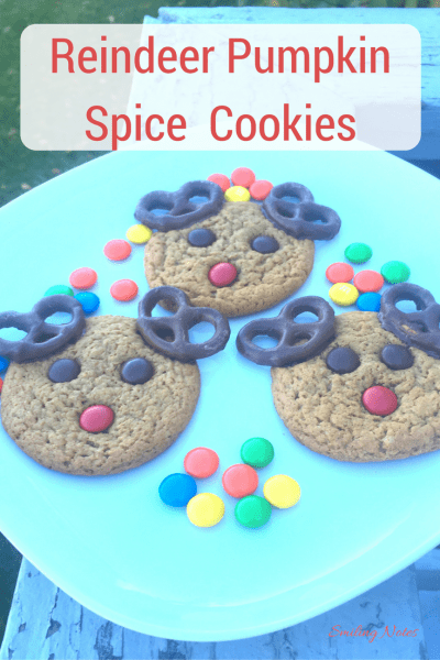 Rudolph the reindeer Pumpkin spice cookies