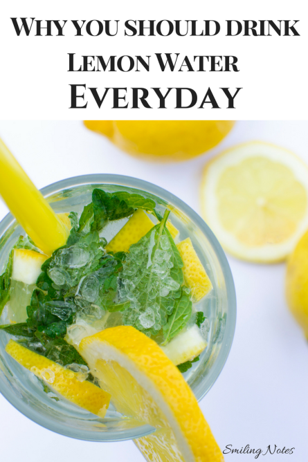 Benefits of Lemon Water - why you should have lemon water everyday