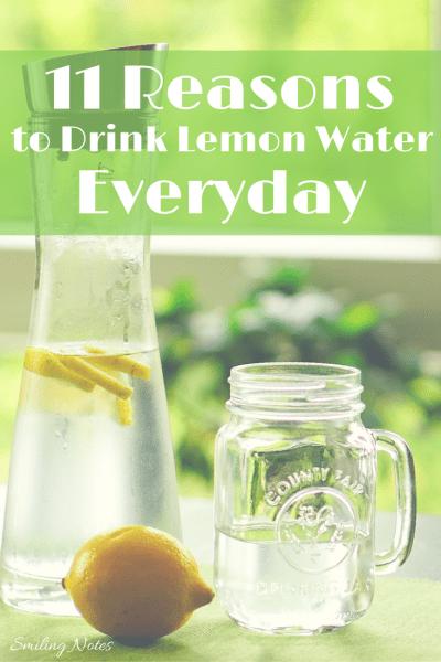 Reasons to drink lemon water everyday
