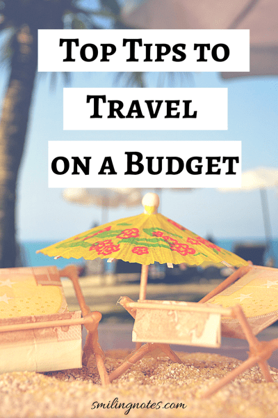 Top tips to travel while you are on a budget - Wish to travel without breaking the bank? Check out some amazing tips that you can save while traveling!