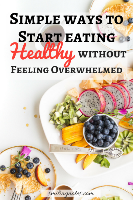 How to Start Eating healthy right now successfully - Do you sometimes wonder how you can make healthy choices without giving into temptations? Being constantly having to be on your toes, whether it's rushing to work or running around the kids, it can sometimes be difficult to take care of yourself.