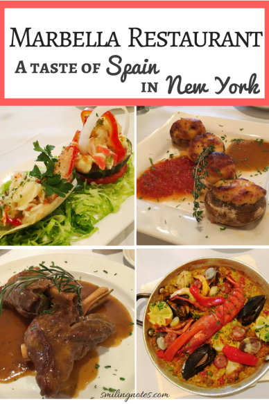 Marbella Restaurant in Queens, New York - serving Spanish, Mediterranean and Continental Cuisine for more than 40 years.