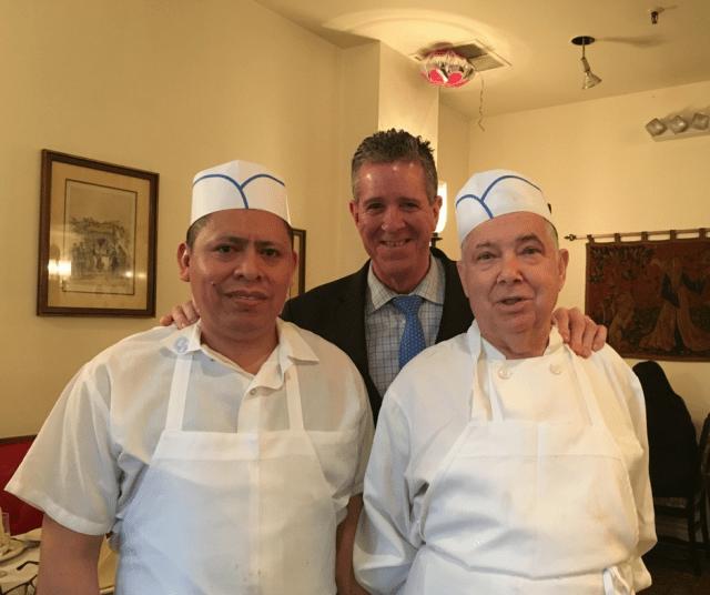staff at marbella restaurant
