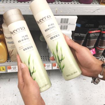 aveeno shampoo and conditioner sulfate free #shop