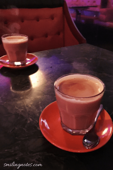 sulemani chai at cafe istanbul