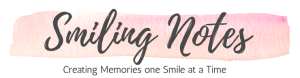 Smiling Notes header