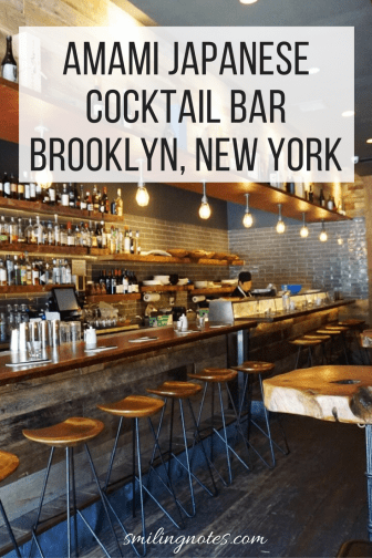 Amami Japanese Cocktail Bar - Restaurant in Brooklyn, New York