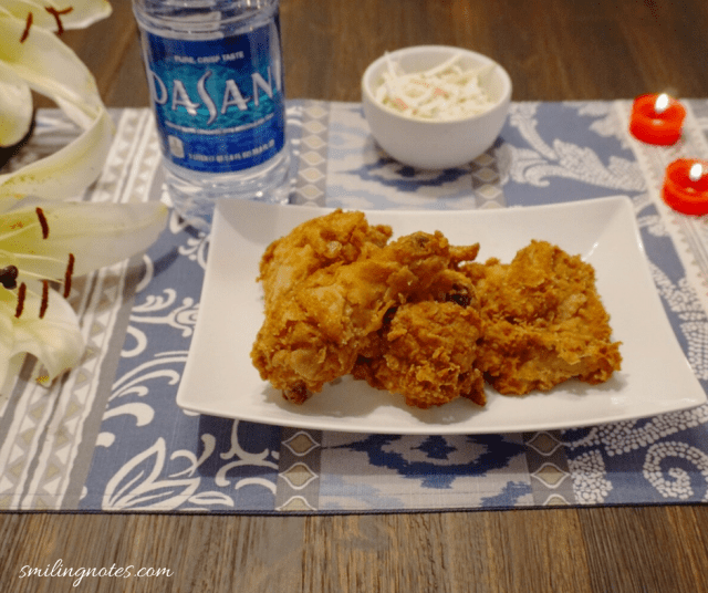 DASANI and Shoprite Fried Chicken