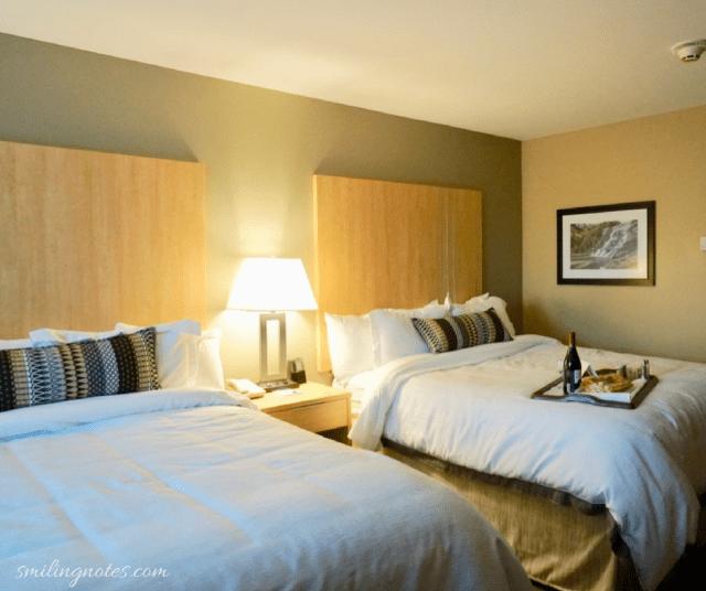 Ithaca hotel room