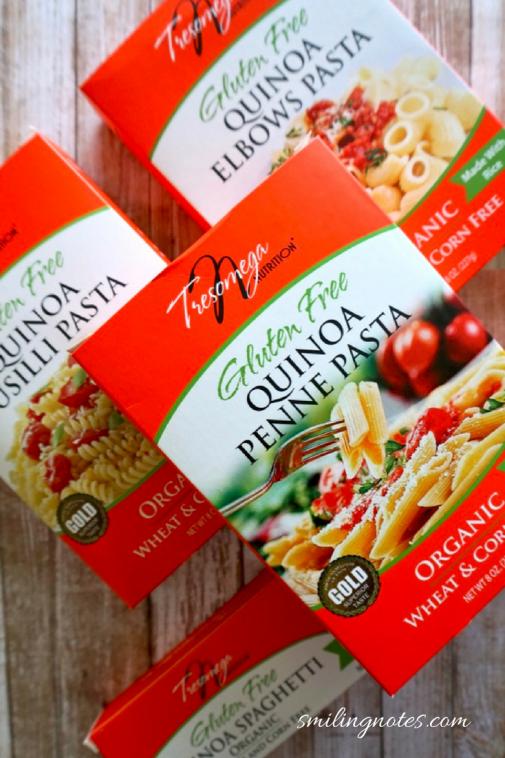 Tresomega Quinoa Pasta