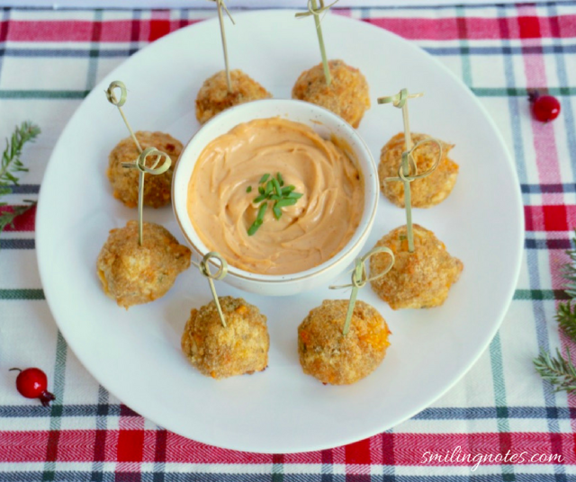 louis kemp crab and cheese balls