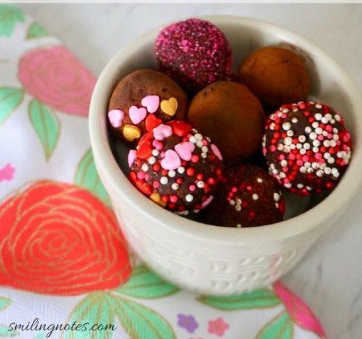 no bake cocoa truffles
