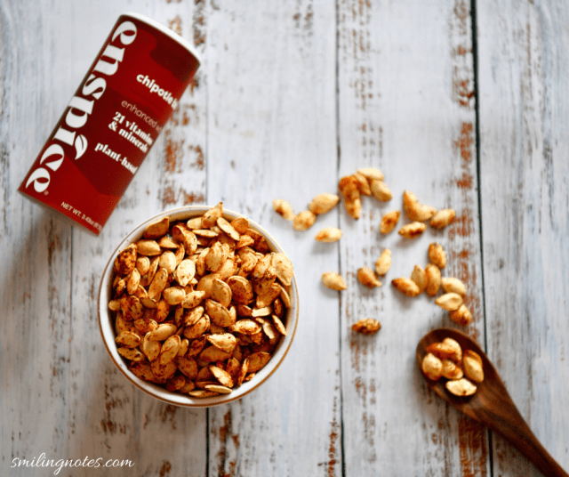 chipotle bbq pumpkin seeds