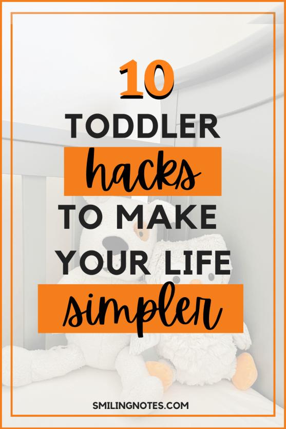 toddler hacks for parents