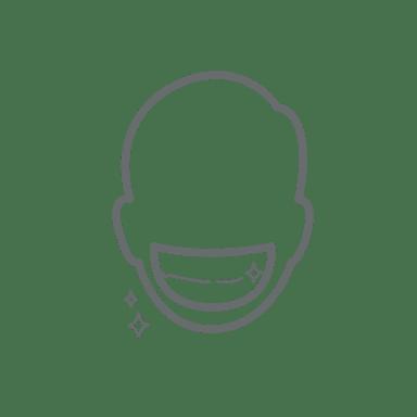 desenho de um sorriso