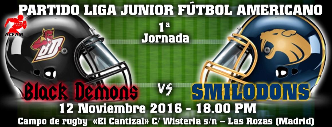 Primera jornada de la liga Junior