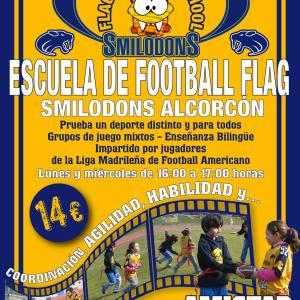 Escuela de Flag Football Alcorcón Smilodons