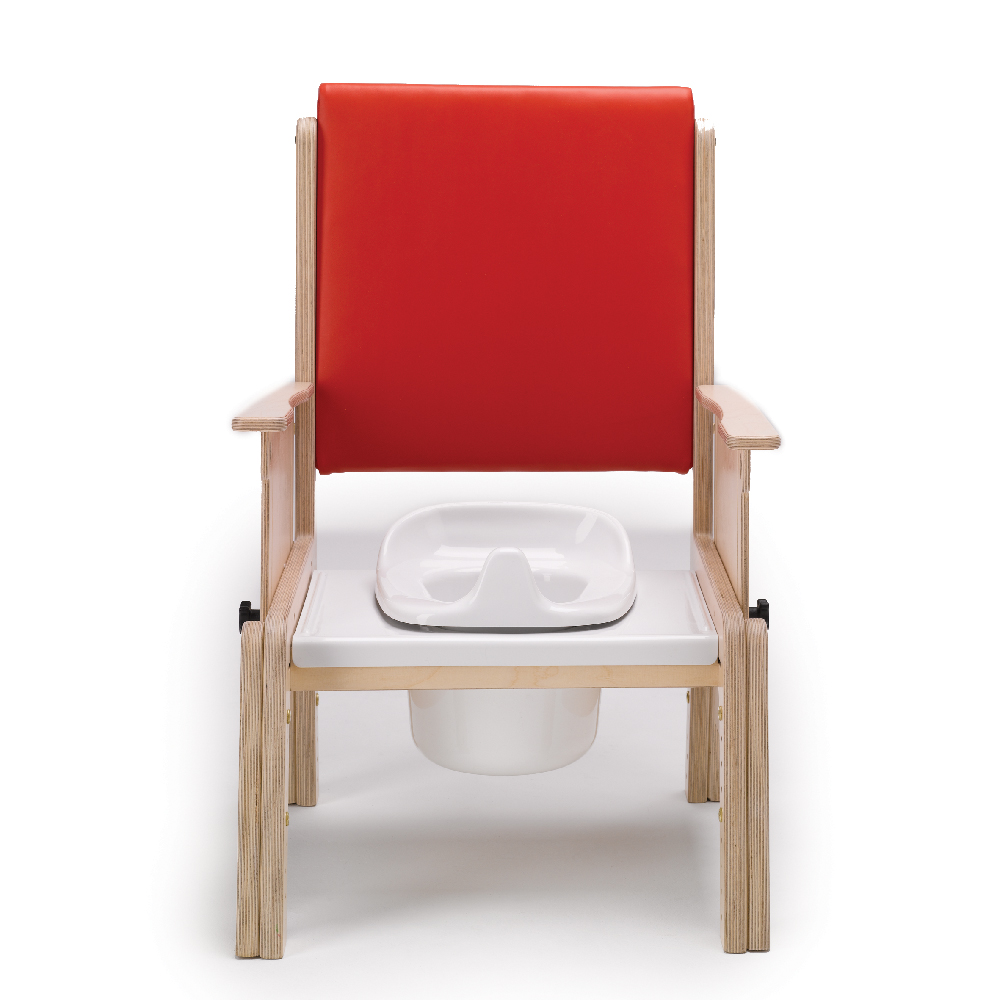 Combi toileting chair potty and cover  Smirthwaite Ltd